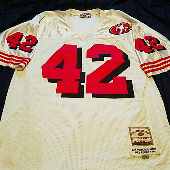 top fashion ee117 95dd2 Authentic Throwback 49ers Ronnie Lott Jersey